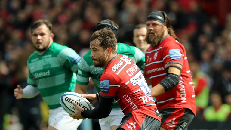 Cipriani in action against Newcastle earlier this month