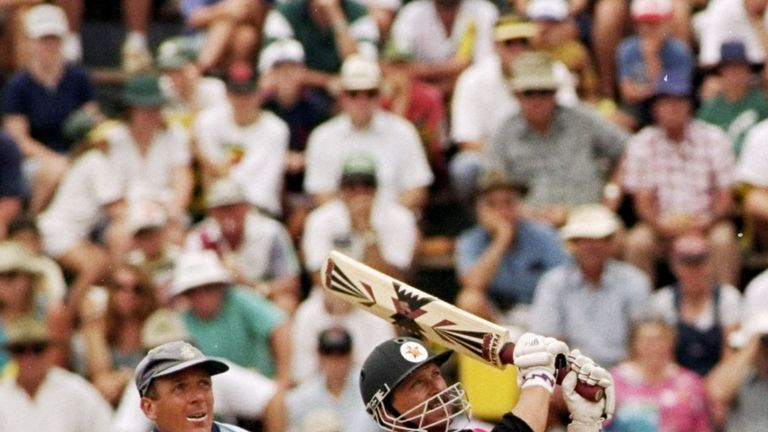 David Houghton could not quite see Zimbabwe over the line in 1997
