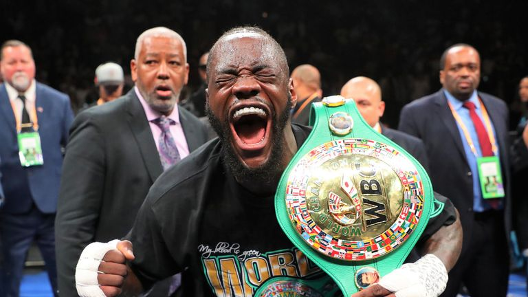 Could Deontay Wilder be considered a franchise champion in the future?