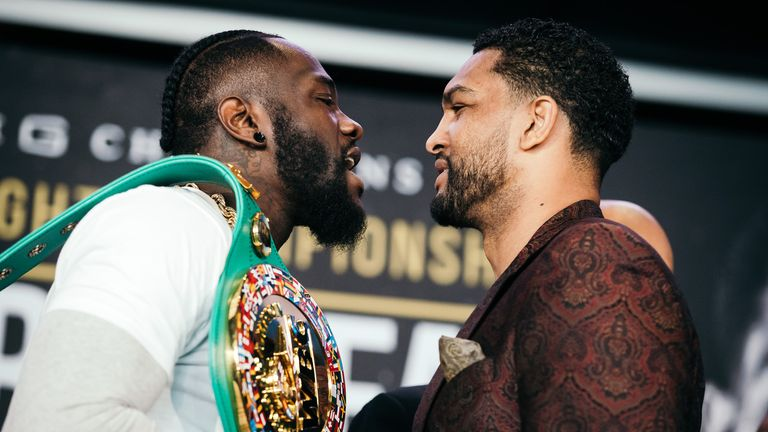 Breazeale faces Wilder in the early hours of Sunday morning
