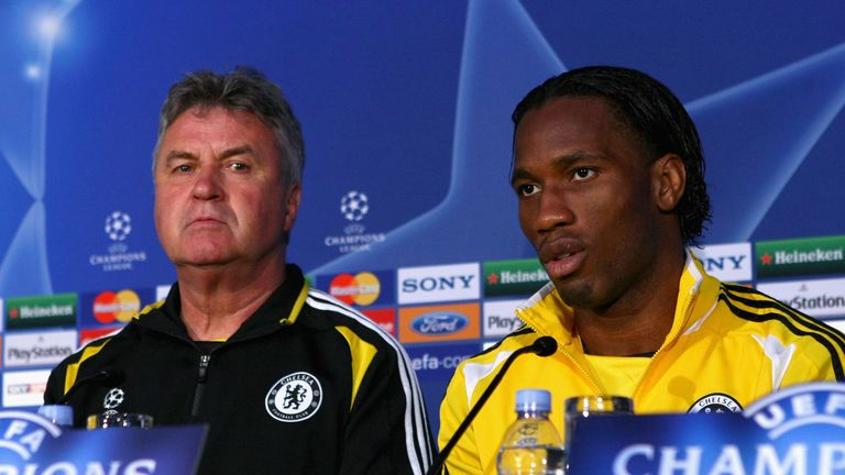 Drogba and Guus Hiddink had some strong words to say about the officials