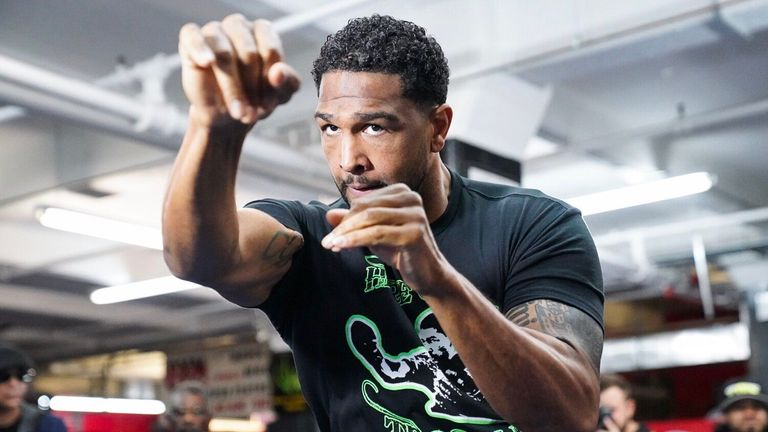 Dominic Breazeale ahead of his showdown with Deontay Wilder
