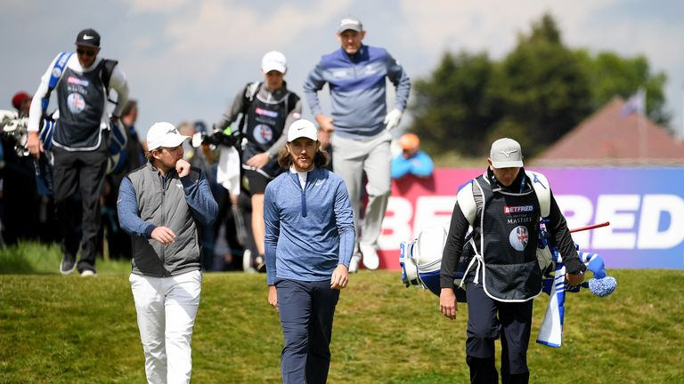 Eddie Pepperell and Tommy Fleetwood are five shots off the pace