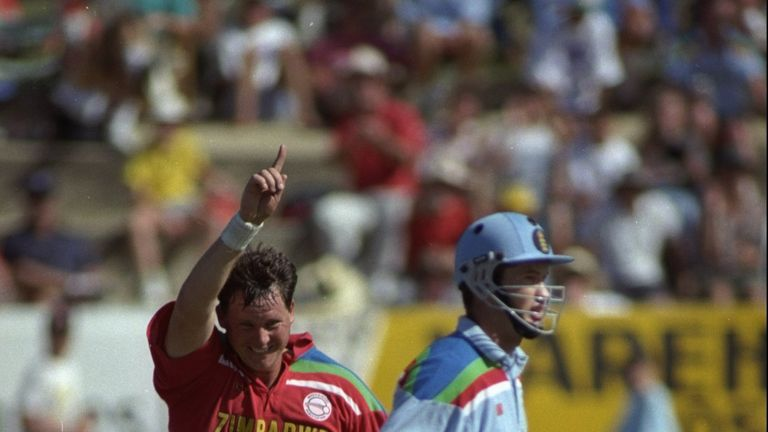 Eddo Brandes' 4-21 helped Zimbabwe triumph over England in a low-scoring thriller