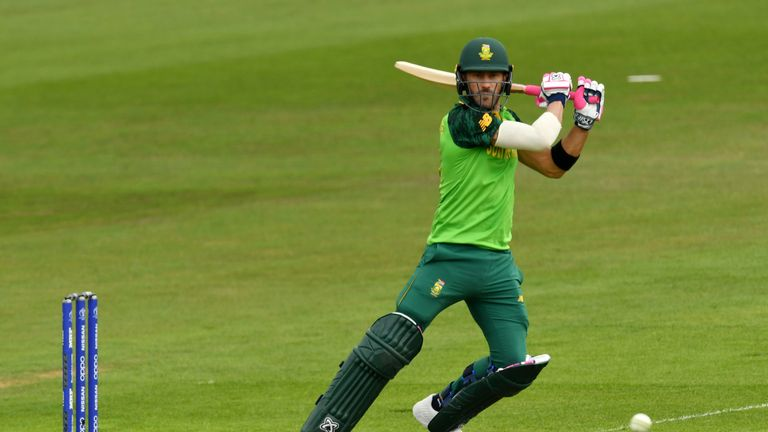 Faf du Plessis top-scored with 88 as South Africa posted 338-7 in their 87-run win over Sri Lanka
