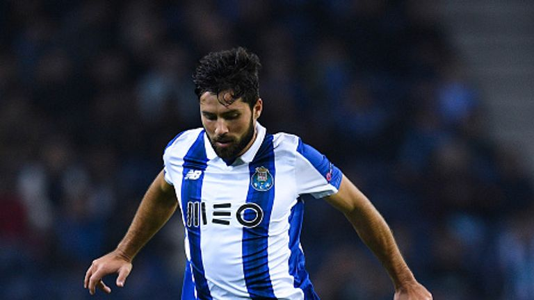 during the UEFA Champions League match between FC Porto and Leicester City FC at Estadio do Dragao on December 7, 2016 in Porto, Porto.