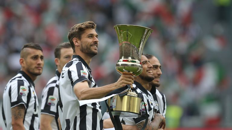 Fernando Llorente won three Serie A titles, one Coppa Italia and two Italian Super Cups during his three seasons with Juventus