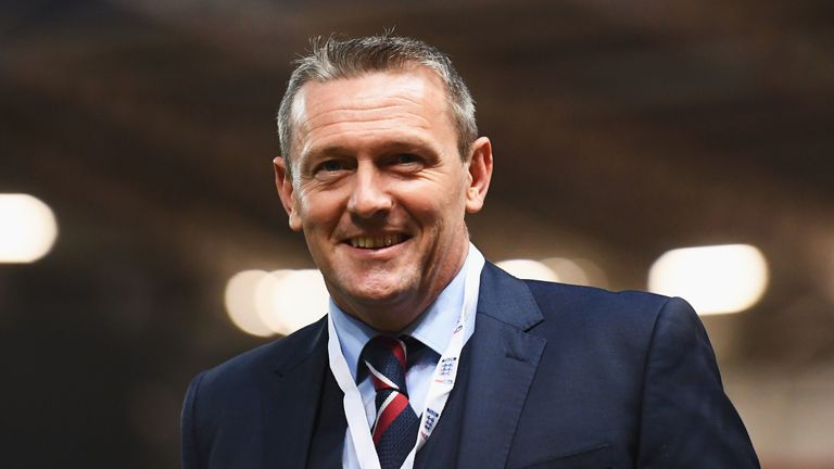 England Under-21 manager Aidy Boothroyd