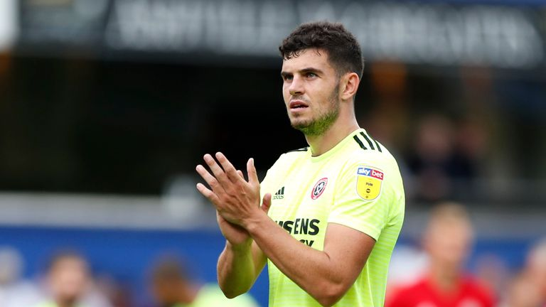Sheffield United defender John Egan