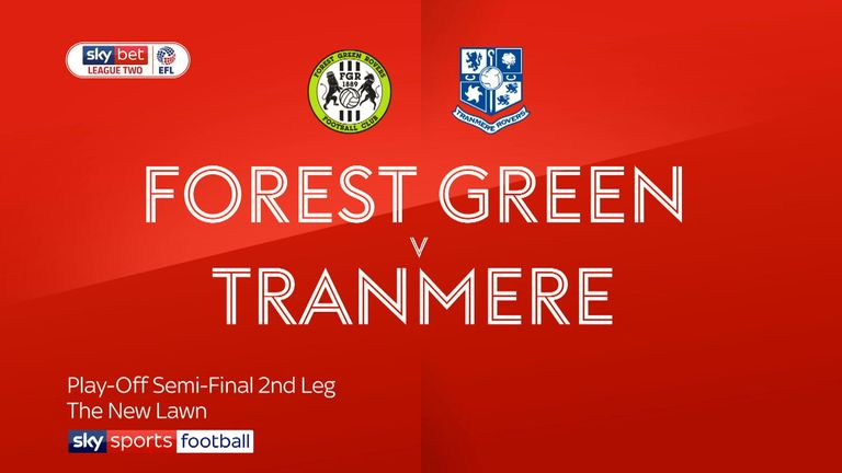 Highlights from the Sky Bet League Two play-off semi-final second leg as Tranmere travelled to Forest Green.