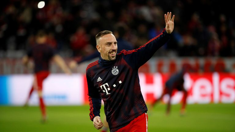 Franck Ribery is leaving Bayern Munich at the end of the season.