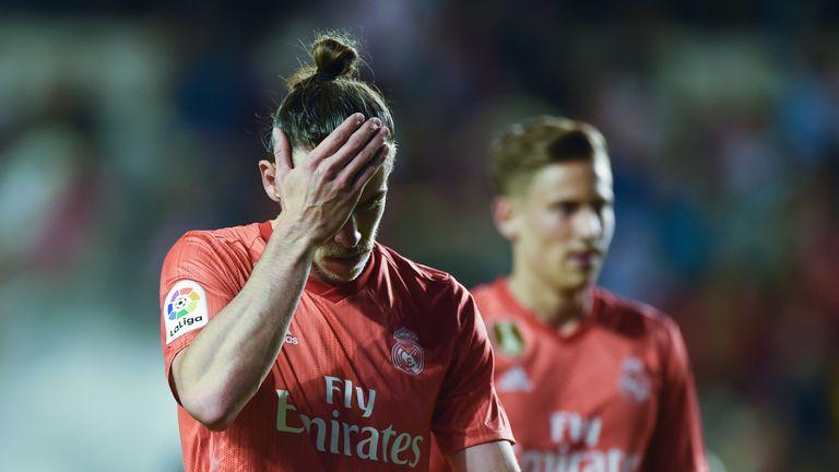 Gareth Bale has started just over half of Real Madrid's La Liga games this season