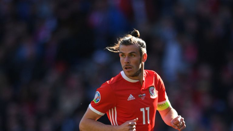 Gareth Bale remains a key part of Wales manager Ryan Giggs' plans