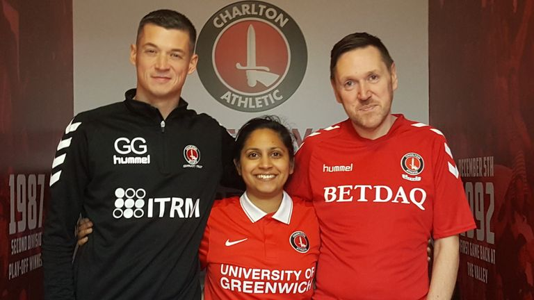 Proud Valiants, Charlton Athletic's LGBT+ fans group - Gary Ginnaw, Bhavisha Patel, Rob Harris