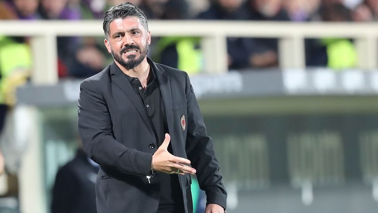 Gennaro Gattuso could still become the first coach to lead AC Milan back to the Champions League since 2013