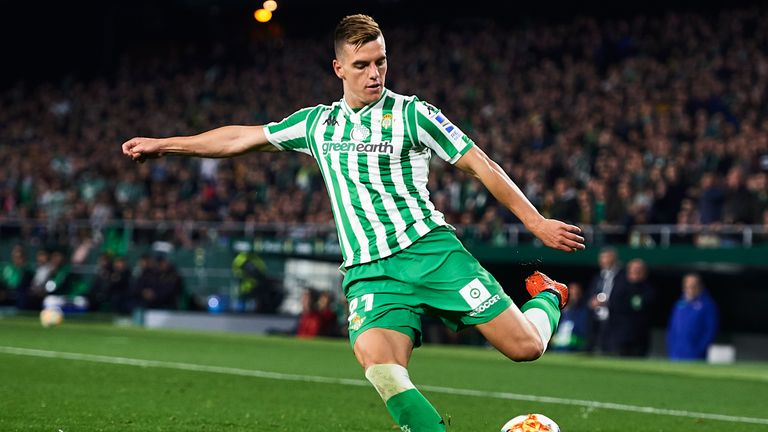 Real Betis player Giovani Lo Celso