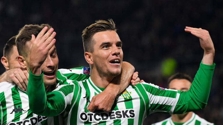 Giovani Lo Celso was the subject of a bid from Tottenham, according to reports in Spain