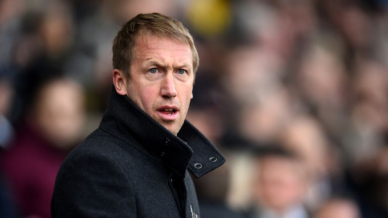 Graham Potter guided Swansea to 10th in the Sky Bet Championship this season