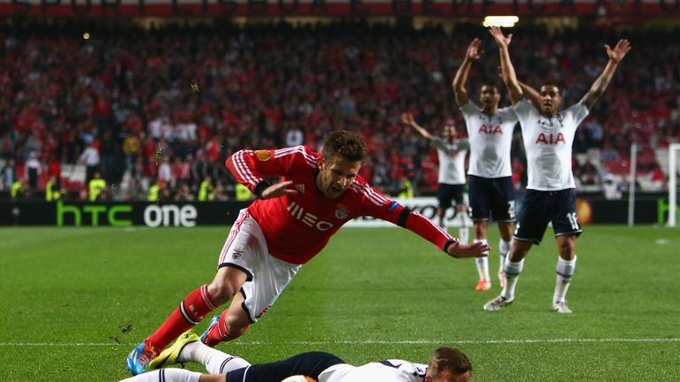 Skomina awarded Benfica a vital spot-kick moments after waving away protests for a Tottenham penalty in 2014