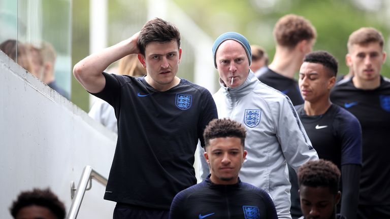Harry Maguire says he is not thinking about his club future