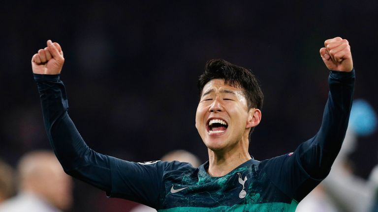 Heung-min Son was pivotal in the Manchester City clashes