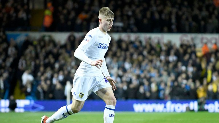 Jack Clarke made 25 appearances for Leeds in his debut season
