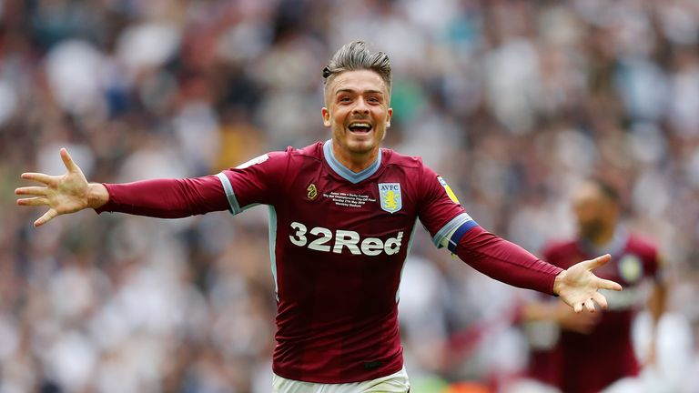 Jack Grealish led Aston Villa back into the big time