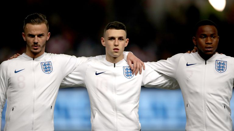 James Maddison and Phil Foden will represent England U21s at this summer's European Championships