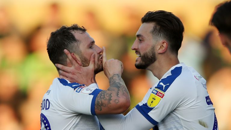 James Norwood scored his 32nd goal of the season in the draw at The New Lawn
