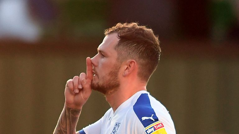 James Norwood scored 32 goals for Tranmere in all competitions last season