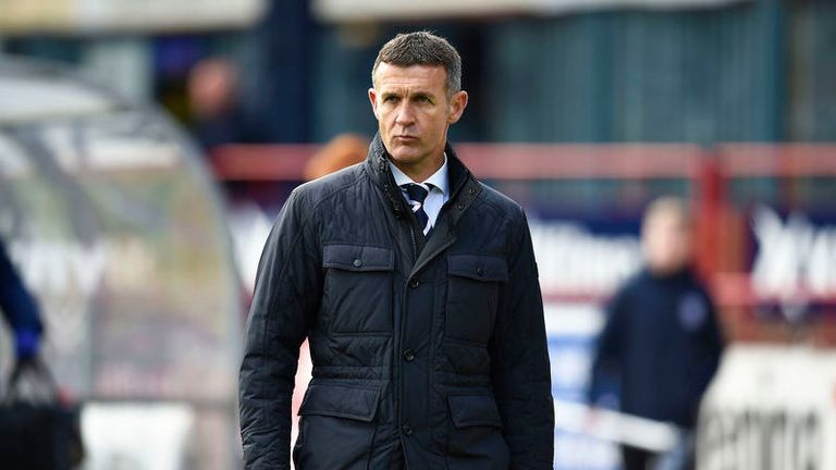 Jim McIntyre had to be sacked, says Dundee managing director John Nelms