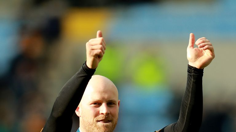 Joe Simpson put in a man-of-the-match performance in his last game for Wasps, scoring two tries