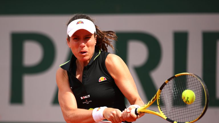 Johanna Konta's French Open semi-final brought forward due to threat of rain | Tennis News |
