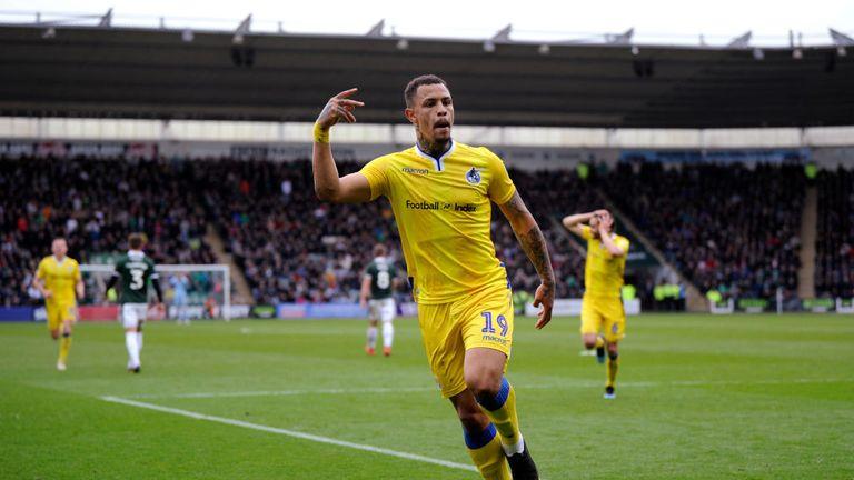 Jonson Clarke-Harris suffered a cruciate knee ligament injury in 2016