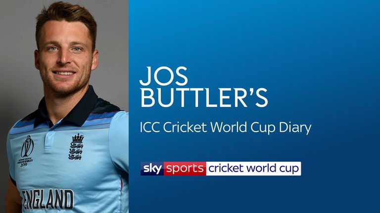 Jos Buttler's World Cup Diary