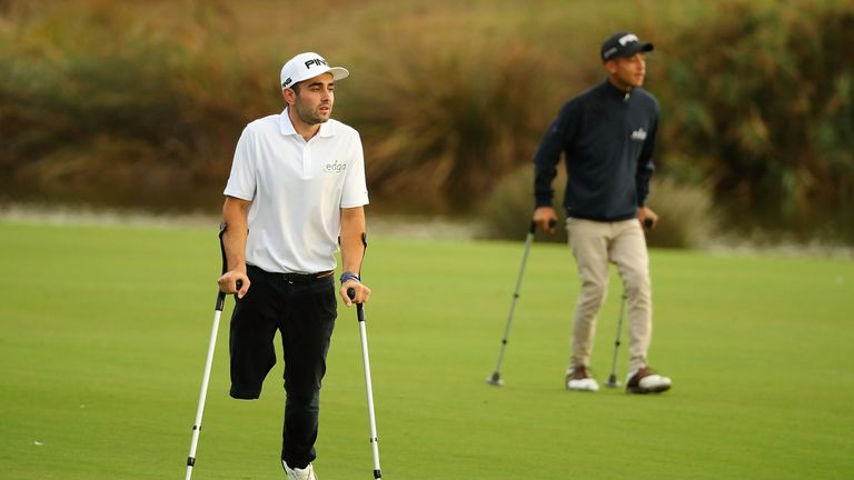 Juan Postigo Arce is one of the leading disabled golfers in Europe