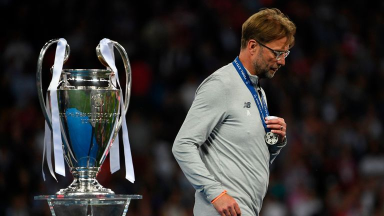 Jurgen Klopp's Liverpool lost to Real Madrid in the Champions League final last year