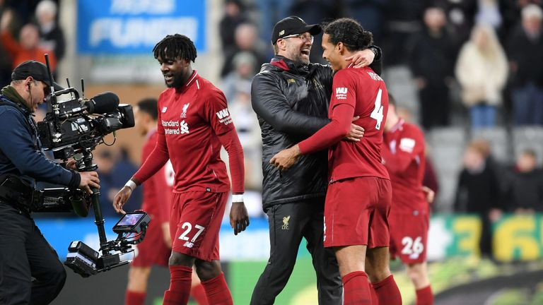 Klopp has a reputation for being one of the most likeable managers in the Premier League