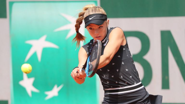 Katie Swan one win away from French Open main draw