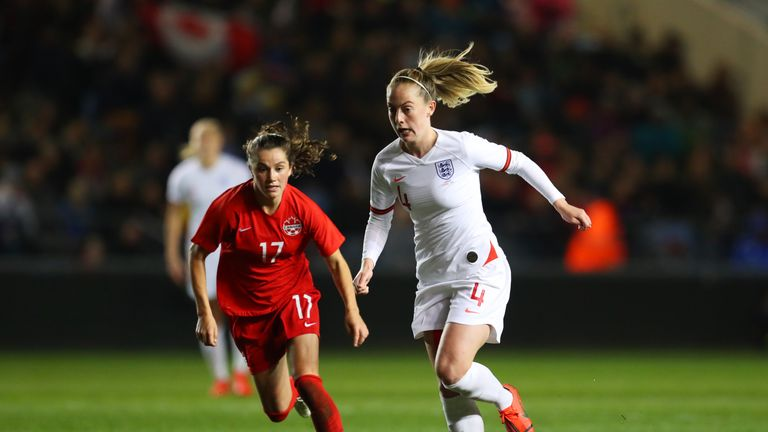 Keira Walsh has an important role to play for England in midfield