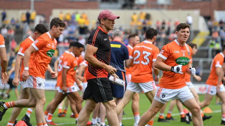 Kieran McGeeney, in his fifth season at the helm of Armagh, is chasing his first win in the Ulster Championship