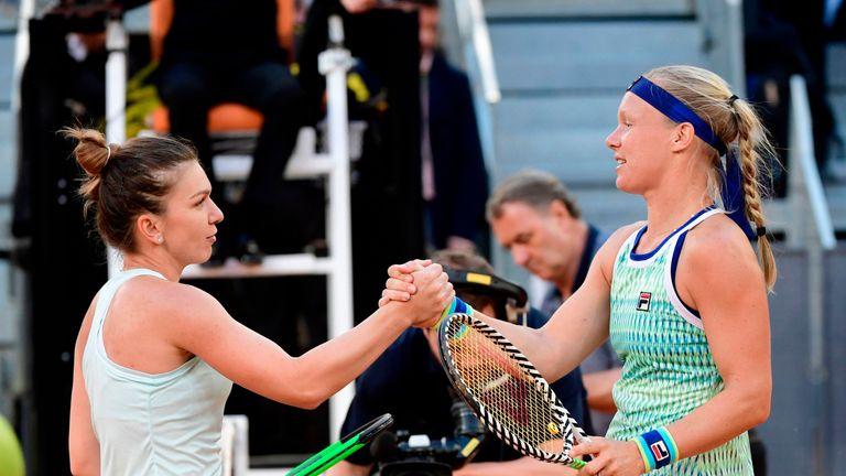Bertens has beaten Simona Halep in their past two meetings - both in finals