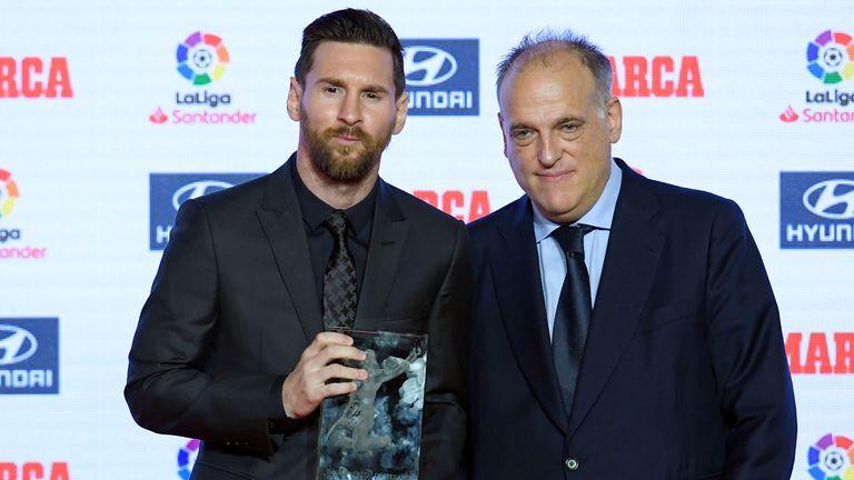 La Liga president Javier Tebas says the reforms could 'destroy domestic leagues'