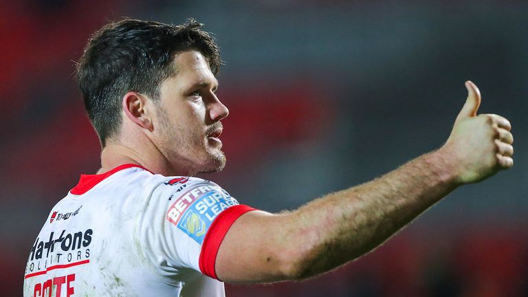 St Helens' Lachlan Coote has been named in the Great Britain performance squad