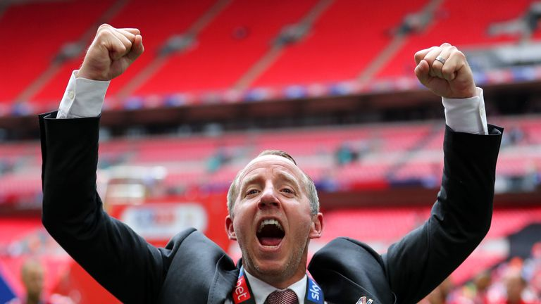 Lee Bowyer guided Charlton to promotion - but his contract is up in June