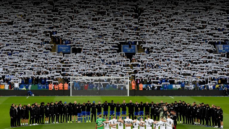 Leicester mourn the death of Vichai Srivaddhanaprabha