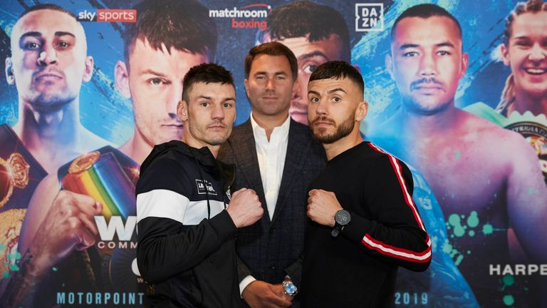 Leigh Doyle defends his Commonwealth title against Ryan Doyle on Friday