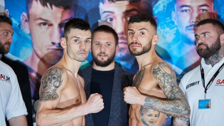 Leigh Wood and Ryan Doyle ahead of their featherweight clash