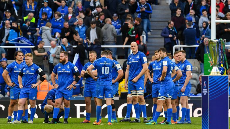Leinster suffered their very first European Cup final defeat at the fifth time of asking