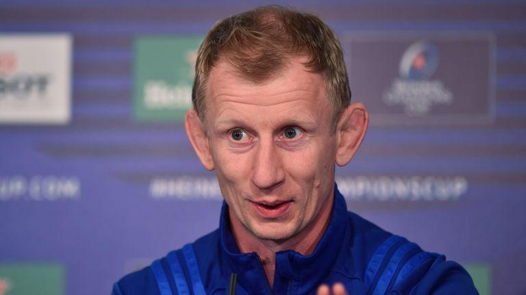 Leinster head coach Leo Cullen wary of impressive Saracens